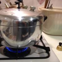 今日も美味しく玄米炊いてます