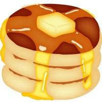 バターホットケーキ